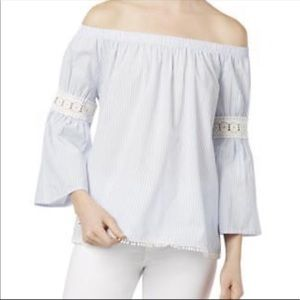 Joes Jeans Collection off the shoulder top